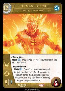 5-2020-upper-deck-marvel-vs-system-2pcg-fantastic battles-main-character-human-torch-l2