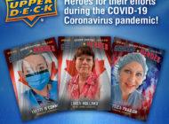 Upper Deck Honors COVID-19 Coronavirus Heroes with New Genuine Heroes Trading Cards!