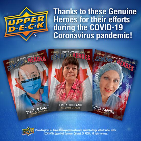 upper deck covid 19 coronavirus heroes nominate hero today