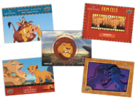 DISNEY'S THE LION KING TRADING CARDS ARE NOW AVAILABLE ON E-PACK!