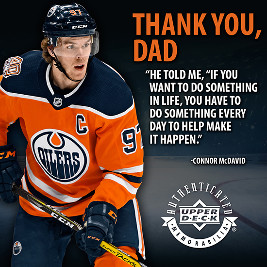 Connor McDavid Father's Day