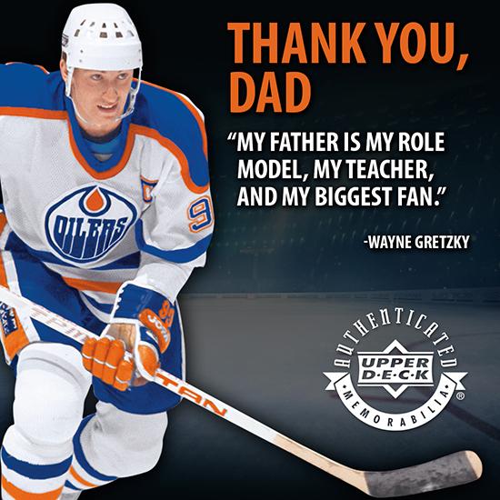 Wayne Gretzky Father's Day