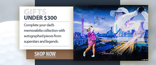 2020 father's day golf memorabilia under $300