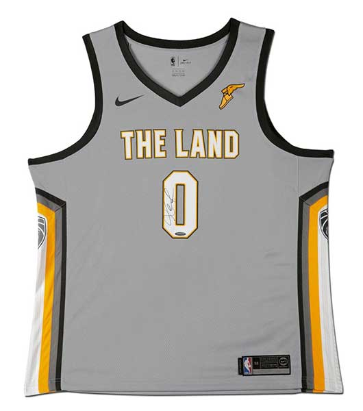 Kevin Love Autographed City Edition Swingman Jersey
