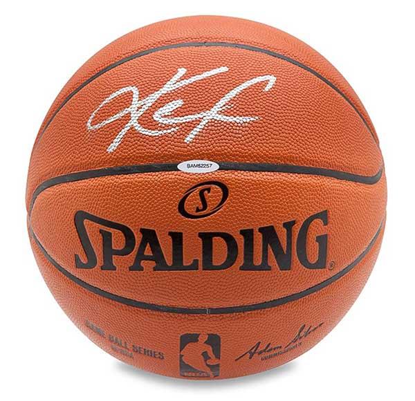 Kevin Love Autographed Spalding Basketball