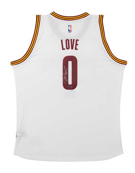 Kevin Love Signed Swingman Home Jersey