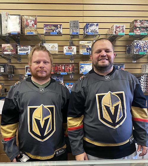 las vegas legacy sports cards golden knights