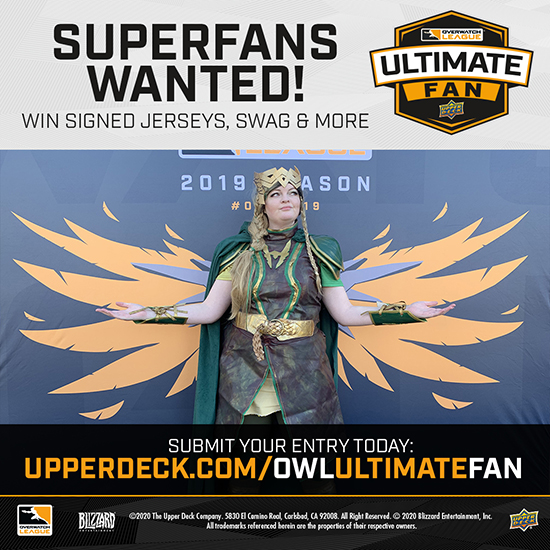 upper deck ultimate fan overwatch league submit