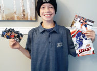 Rookie Designer Scores: 9-Year-Old Works with Upper Deck to See his Dream Card Come to Life in 2020-21 NHL® MVP