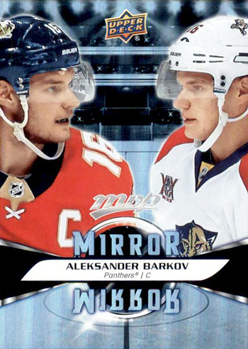 nhl mvp mirror cards andrew kid designer