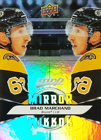 kid designer upper deck mvp mirror cards