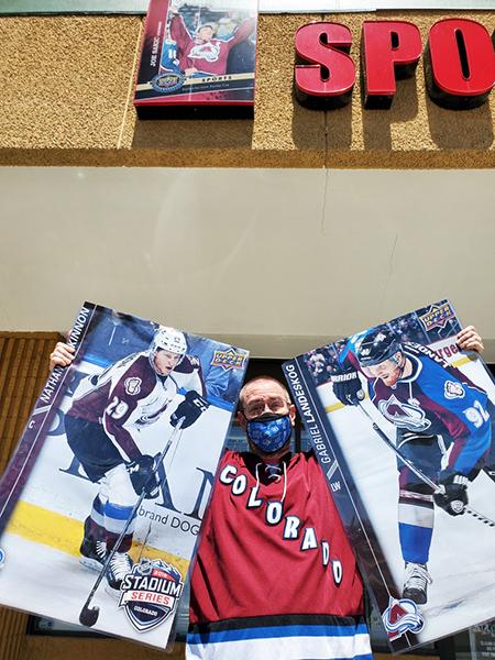 colorado avalanche aurora denver colorado card shop sports collectibles memorabilia mike's