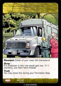 3-2020-upper-deck-marvel-vs-system-2pcg-crossover-volume-three-terrain-city-dump-truck