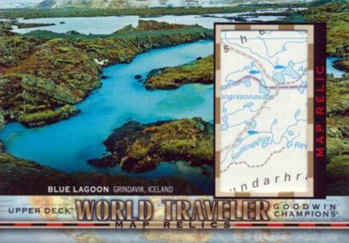 goodwin champions upper deck world travelers map relics