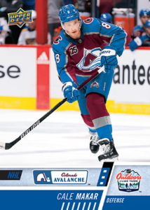 NHL Outdoor Games at Lake Tahoe - Cale Makar Card