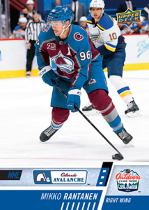NHL Outdoor Games at Lake Tahoe - Mikko Rantanen Card