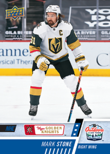 NHL Outdoor Games at Lake Tahoe - Mark Stone Card