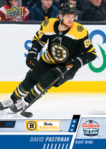 NHL Outdoor Games at Lake Tahoe - David Pastrnak Card