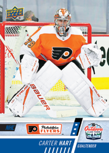NHL Outdoor Games at Lake Tahoe - Carter Hart Card