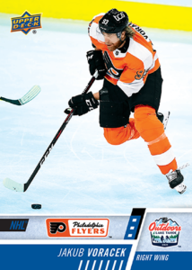 NHL Outdoor Games at Lake Tahoe - Jakub Voracek Card
