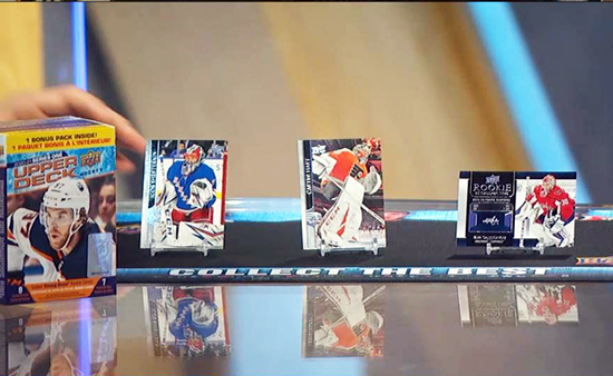 upper deck nhl hockey cards network tv goalies