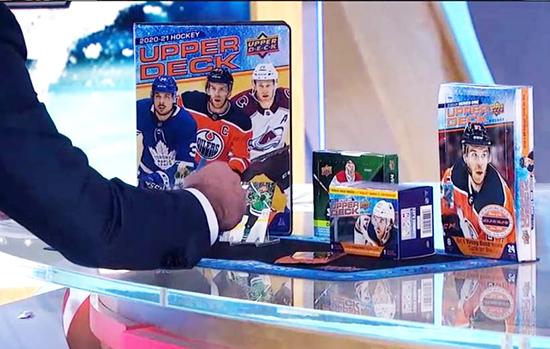 upper deck nhl cards tv network hockey