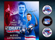 Upper Deck Launches First-Ever Alexis Lafrenière New York Rangers® Memorabilia Collection
